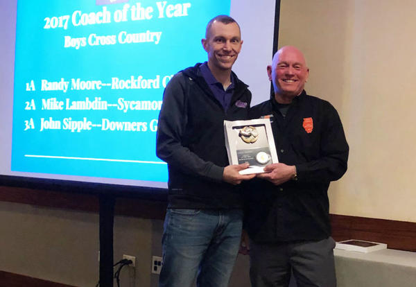 Teacher and Cross Country Coach Sipple named North Division Coach of the Year