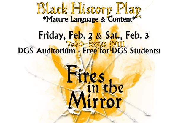 DGS Presents Black History Play: Fires in the Mirror