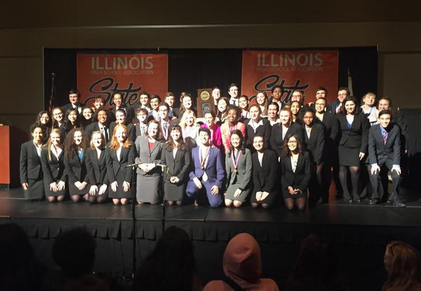 DGS Speech Team Wins State for Second Year in a Row