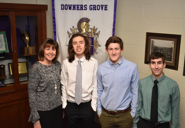 Three Students at DGN Named National Merit Scholars