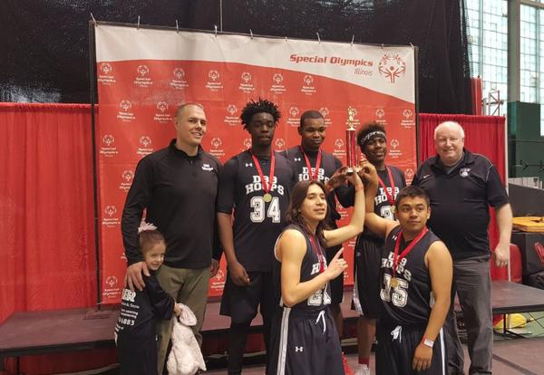 District 99 Special Olympics Basketball Team Wins State Tournament