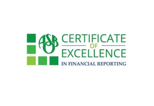 District 99 Awarded for Outstanding Financial Reporting