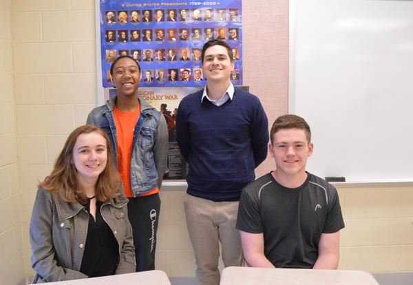 Three DGN Students Win Congressional Seminar Essay Contest