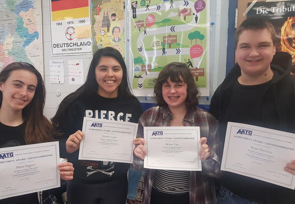 25 District 99 Students Earn National German Exam Recognition