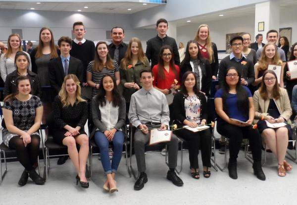 65 South High Students Inducted into World Language Honor Societies