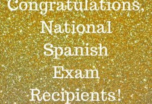 Downers Grove North Students Excel on National Spanish Exam