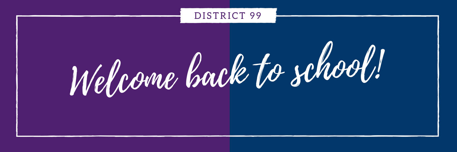 Welcome back teachers, students and staff!