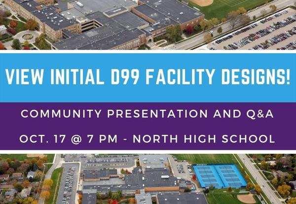 D99 to Share Initial Facility Designs on Oct. 17