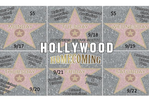 DGS presents Hollywood Homecoming: Sept. 17-22