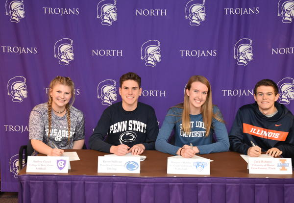 Four DGN Student-Athletes Sign Letters of Intent