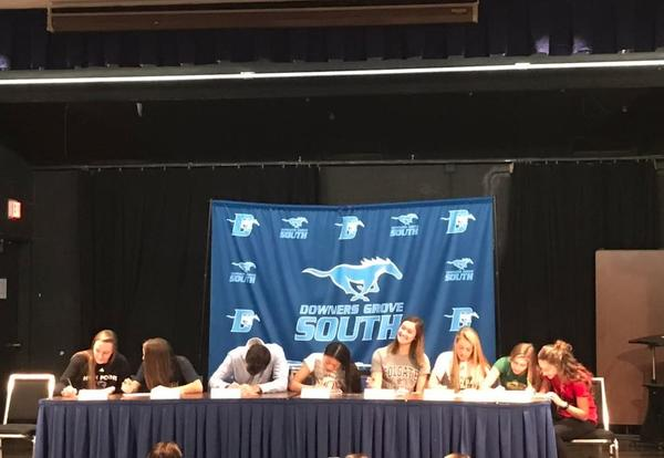 Eight DGS Student-Athletes Sign Letters of Intent