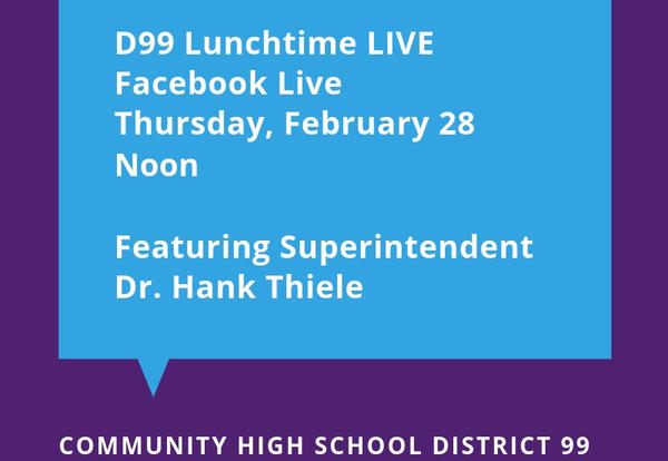 D99 Hosts Monthly Facebook Live Event on Feb. 28