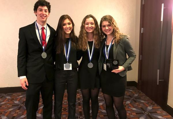 DGN Students Place at State DECA and Advance to Nationals