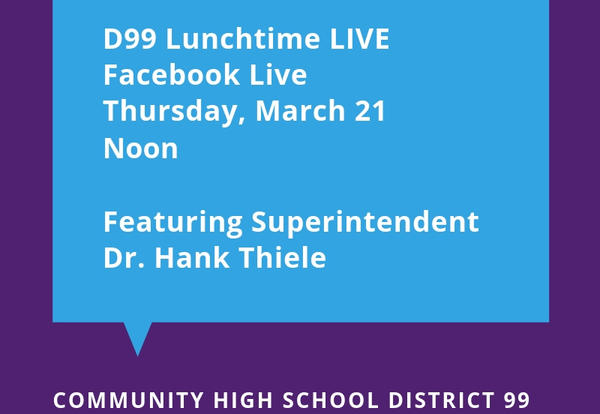 D99 to Host Monthly Facebook Live Event on March 21