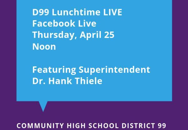 D99 to Host Facebook Live on April 25