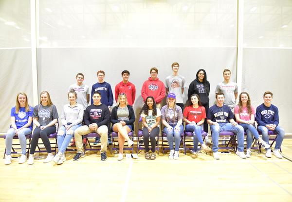 DGN Celebrates Senior Student-Athletes Continuing Play in College