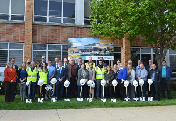 District 99 Breaks Ground at South High for Master Facility Plan