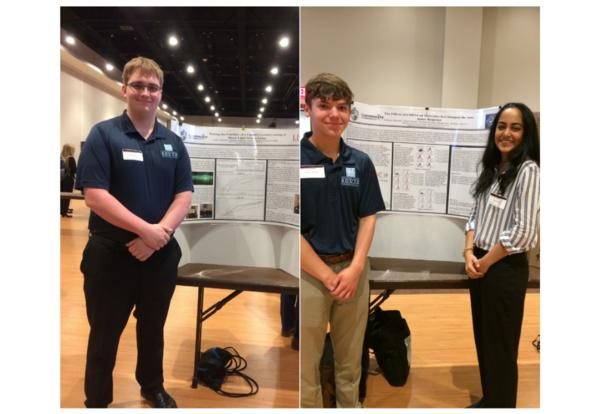DGS Students Earn Awards at High School Research Symposium at ISU