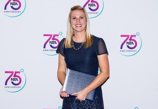 North High Science Teacher Ashley Remegi Wins National Award