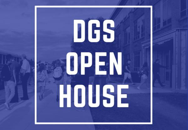 DGS Open House and Changes to Traffic Flow