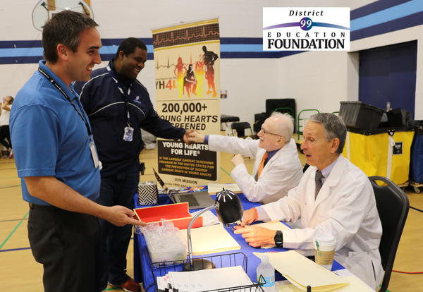 Nearly 2,000 DGS students received cardiac screenings