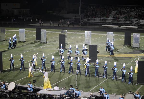Marching Mustangs Music Bowl on Saturday, October 12