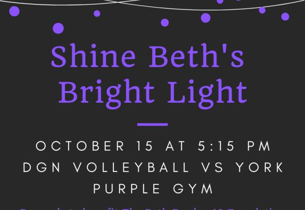Volleyball to Honor Beth Dunlap on Oct. 15