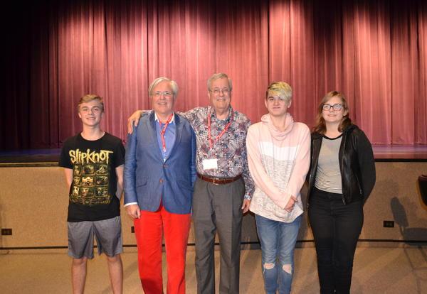 Academy Award-Winning Alum visits North High