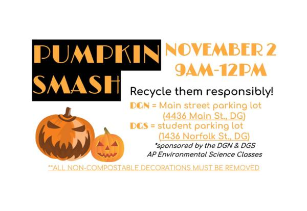 Recycle Your Pumpkins on Nov. 2