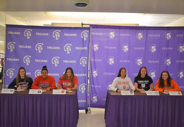 Six DGN Student-Athletes Sign National Letter of Intent