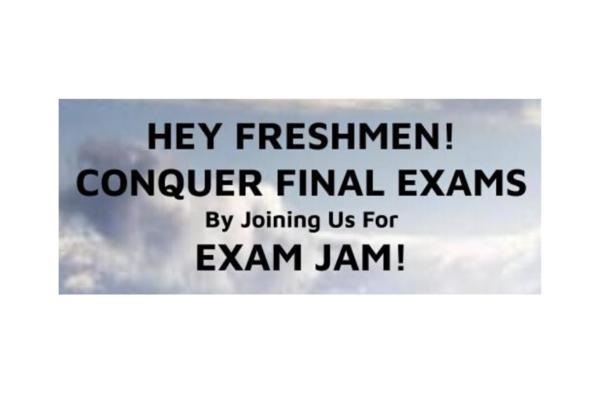 Freshmen Exam Jam: Dec. 5