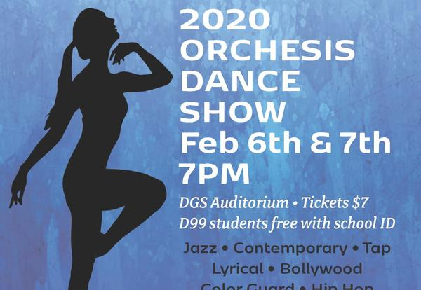 DGS Orchesis Performances Feb. 6-7