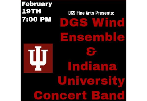 Wind Ensemble to Join IU Concert Band for Free Concer