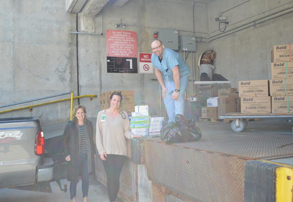 District 99 High Schools Provide PPE to Local Hospital