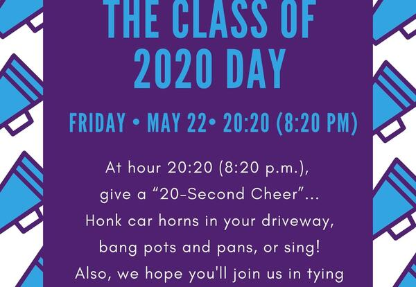 """Mayors Declare May 22 as """"The Class of 2020 Day"""""""