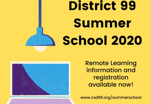 Summer School Registration Now Open