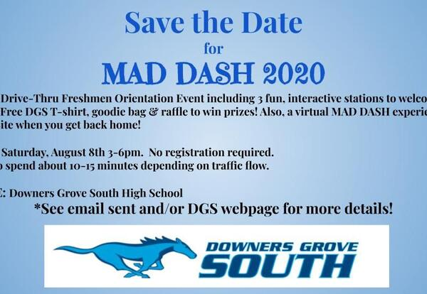 Mad Dash - August 8