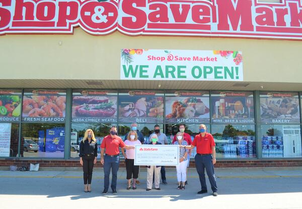 Local State Farm Agents and Shop & Save Market Partner to Support District 58 and 99 Families
