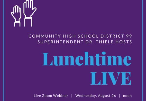 Lunchtime LIVE Webinar: Aug. 26