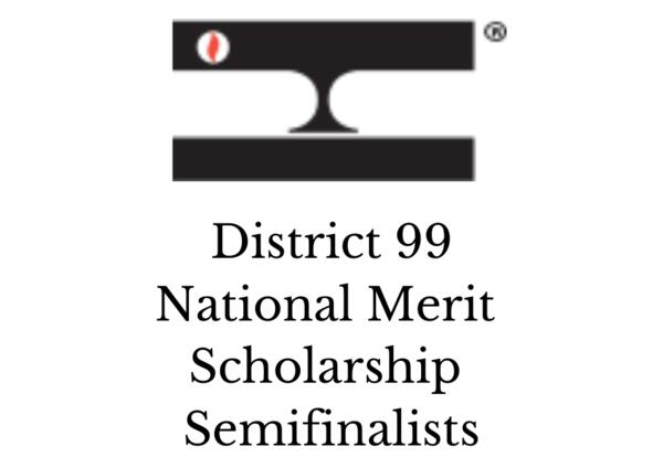 D99 2021 National Merit Scholarship Semifinalists
