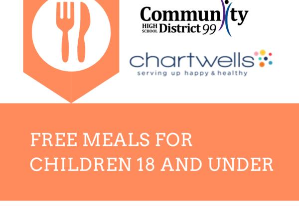 District 99 and Chartwells Providing Free Meals to Children in Community