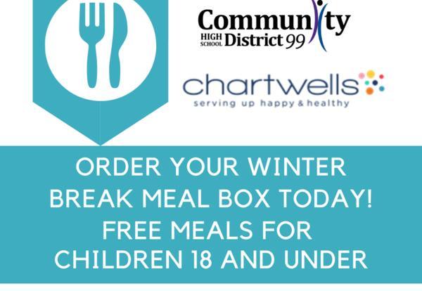 Pre-Order Winter Break School Meal Box by Dec. 6