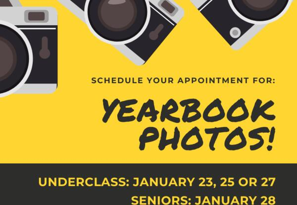 Schedule Yearbook Photo Appointments