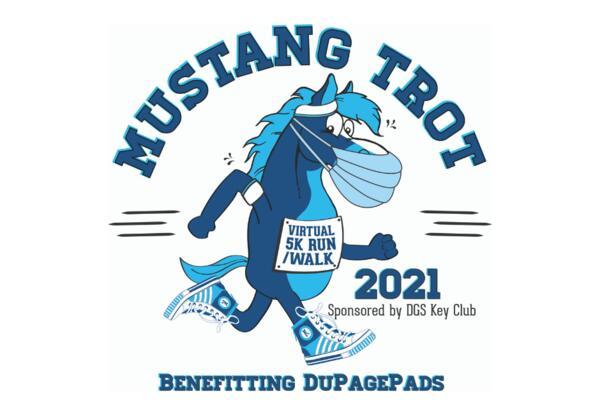 Virtual Mustang Trot 5K Run/Walk: April 10-18