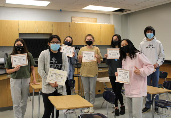 DGS Students Recognized for Excellence in Math and Science