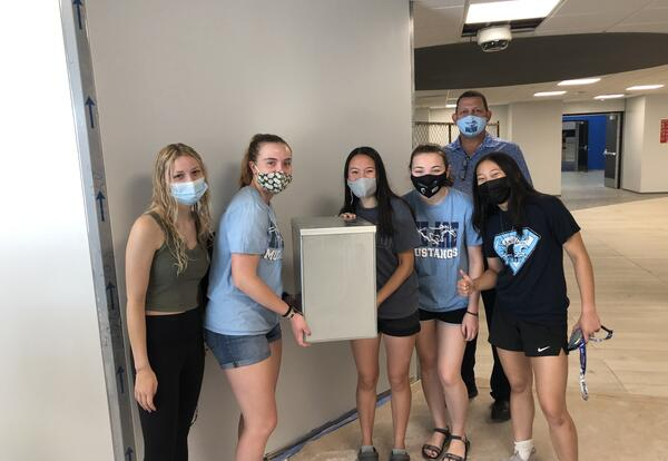 Downers Grove South High School Installs Time Capsule to be Opened in 2071