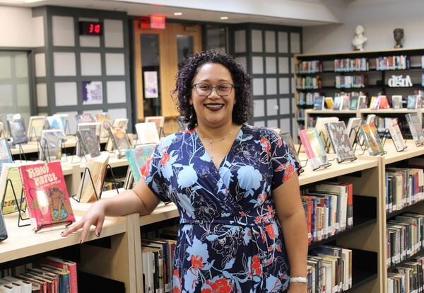 DGN Librarian Mariela Siegert Named  2021 AISLE School Librarian of the Year