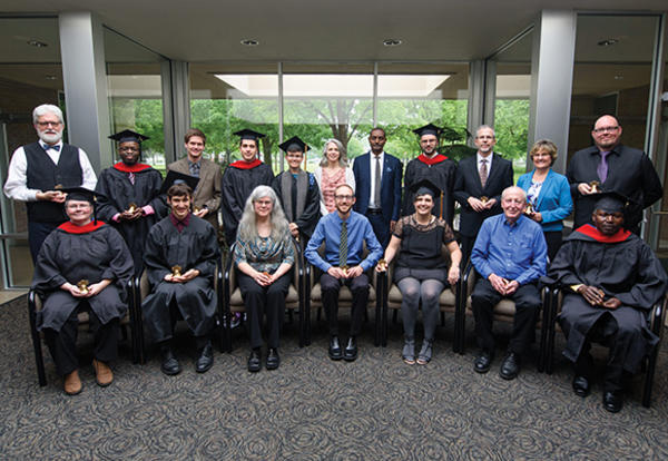 "Seminary graduates called to engage the ""whole of life"""