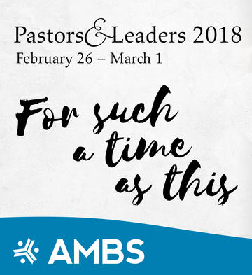 Pastors and Leaders 2018 wordmark
