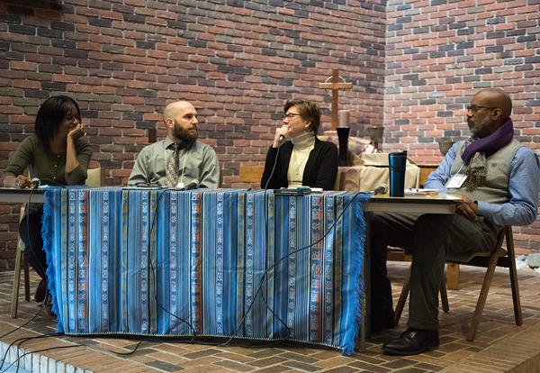 Pastors and Leaders 2019 keynote speakers engage in a panel discussion.